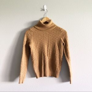 J. Cree Brown Turtleneck Sweater